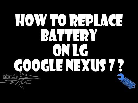 How to Replace Battery on Google Nexus 7 ? Step by Step instruction !