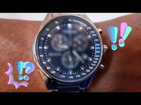 Unboxing a rare 39mm Chronograph AT2390-82L