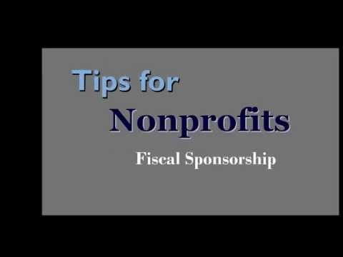 Tips for Nonprofits: Fiscal Sponsorship