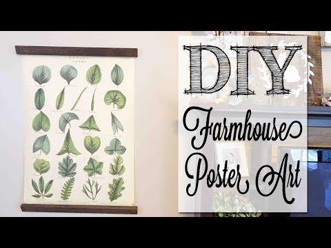 DIY Farmhouse Poster Art