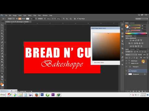 Tarpaulin Design l how to make Signage in adobe photoshop (Tutorial)