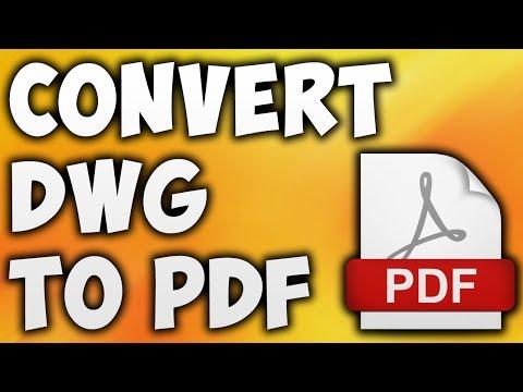 How To Convert DWG TO PDF Online - Best DWG TO PDF Converter [BEGINNER'S TUTORIAL]