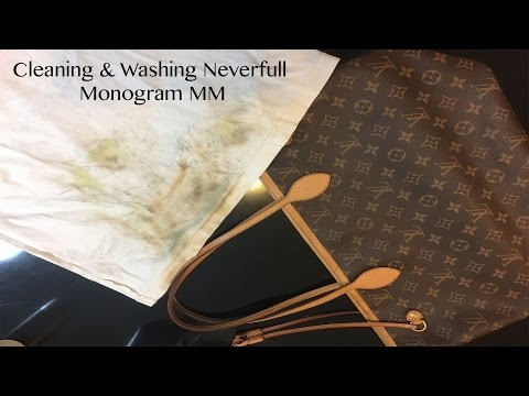Cleaning and Washing Neverfull Monogram MM