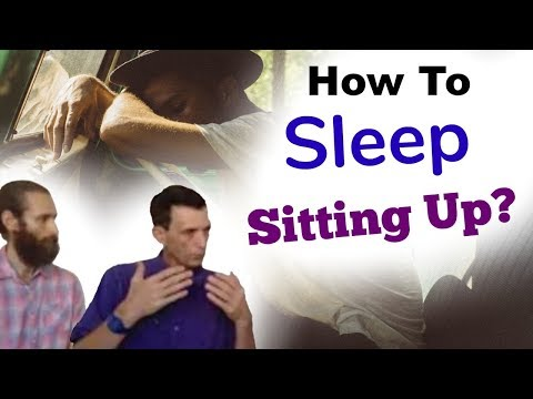 How to sleep sitting up? Sleeping sitting instructions - Interview with Dr. Artour