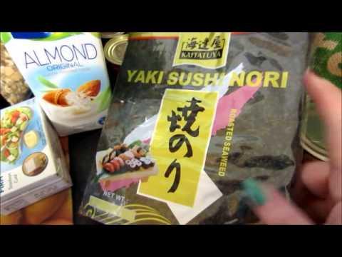 New Vegan diet Grocery Haul
