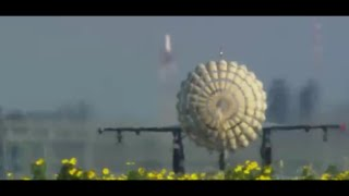 Fighter jets in action with beautiful scenary HD