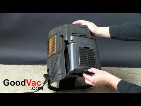 Rainbow vacuum e series model HEPA filter replacement manual / instruction
