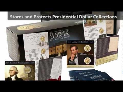 Presidential Dollar Coin Collections Collector's Box
