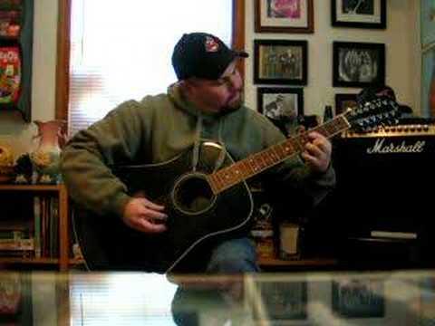 Fender Acoustic 12 string Guitar Finger Picking