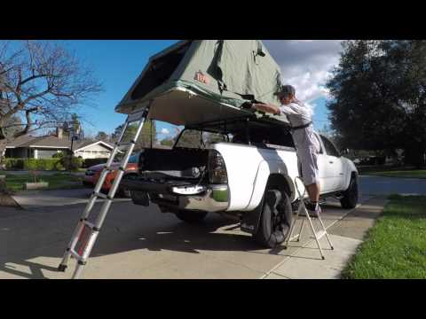 Tepui roof top tent review and 5-minute setup