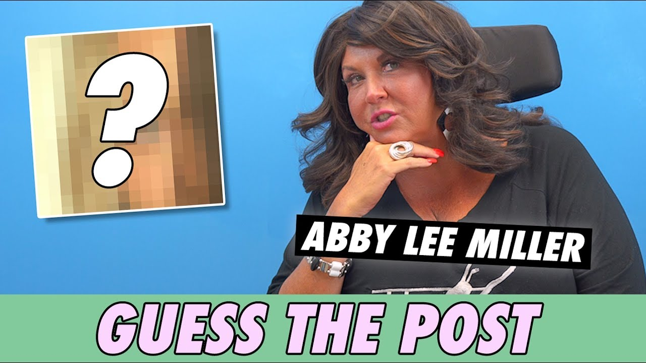 Abby Lee Miller - Guess The Post