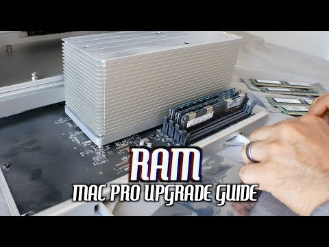 Classic Mac Pro RAM Upgrade Guide (2010-2012)