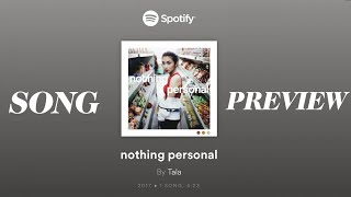 TALA - nothing personal (Offcial Song Preview)