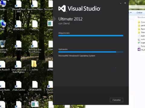 Instalacion Visual Studio 2012 Ultimate - sysAMA