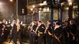 Shaul Bustan conducts the Koninklijke Harmoniekapel Delft Singer: Jeroen Manders Het spoor voorbij - Werkplaats Spoorzone Delft (Netherlands)  February 2015  Video: Dror Verber, Luise Bundschuh