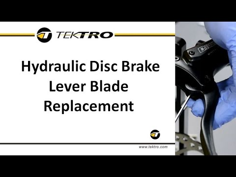 Hydraulic Disc Brake Lever Replacement