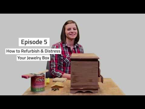 How to Refurbish & Distress a Jewelry Box (Tips from Tiff #5)