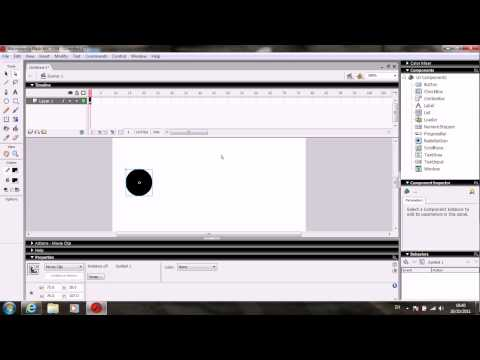 HOW TO MAKE AN OBJECT MOVE IN FLASH