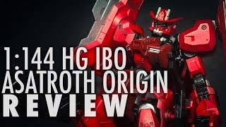 1/144 HG Gundam Astaroth Origin (Gundam: Iron Blooded Orphans) | REVIEW