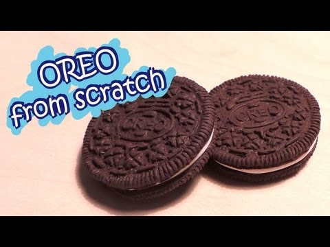 Polymer Clay Oreo From Scratch (No Mold Tutorial)