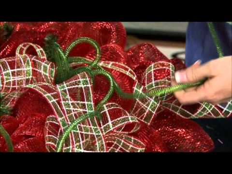 Craig Bachman Imports How To: Deco Mesh & Work Wreath