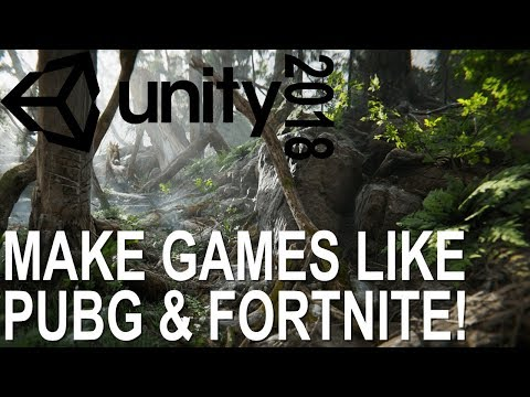 How To Download & Install UNITY 2018   Create Games Like PUBG & Fortnite For FREE!