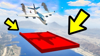 CAN YOU SAVE THE CRASHING CARGO PLANE IN GTA 5?