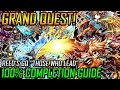 """Download  Grand Quest! Reed's GQ 100% Completion Guide """"Those Who Lead"""" MP3,3GP,MP4"""