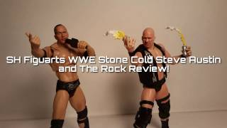 REVIEW: SH FIGUARTS WWE Stone Cold Steve Austin and The Rock