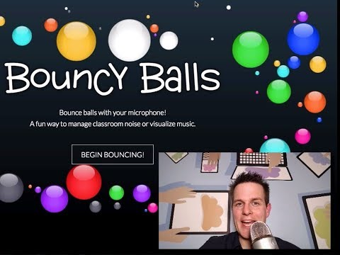 Monitor Classroom Noise Bouncyballs.org How-To