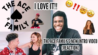 I LOVE IT!! THE ACE FAMILY'S NEW INTRO VIDEO (REACTION)