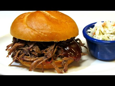 How to Make BEST EVER BBQ Pulled Beef -  Barbecue Beef Recipe