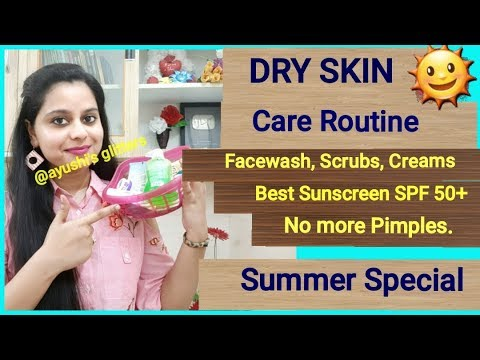 फेस पर Dryness/Pimples/Blackheads दूर करें | Dry Skin Care in Summers