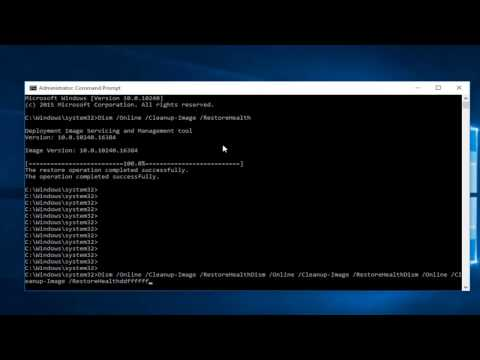 Windows 8/10: How To Repair Component Store Corruption Using DISM.exe