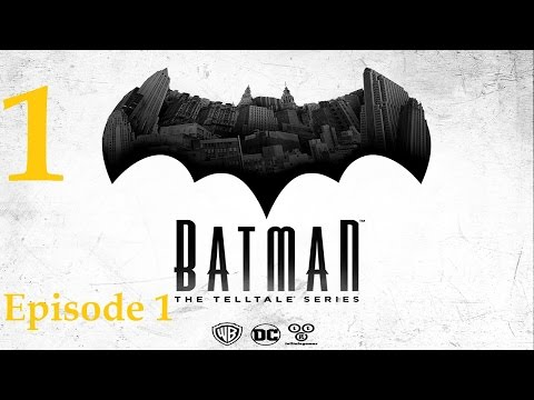 Batman - Telltale Game Series - Episode 1 - Realm of Shadows Walkthrough Part 1 [1080p HD]