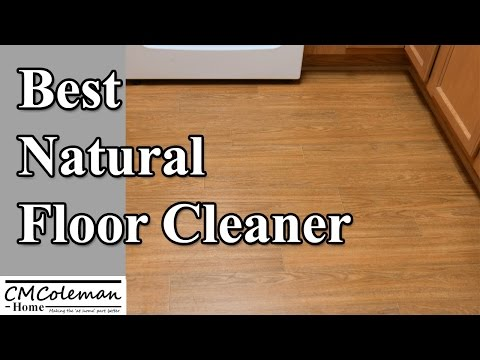 Homemade Natural Floor Cleaner