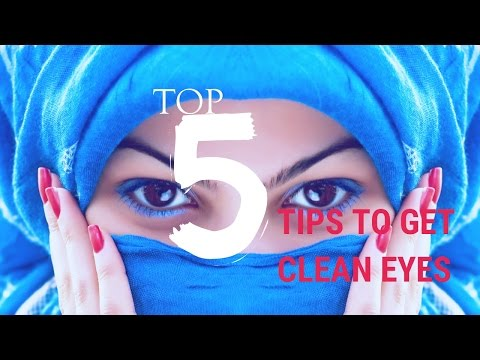 top 5 tricks to get clean white eyes || How to get clean whit eyes