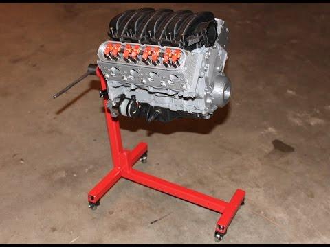 3D Printed Chevy Camaro V8 LS3 - Full Working Model