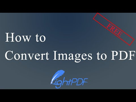 [Free]How to Convert Images to PDF(JPG, PNG)