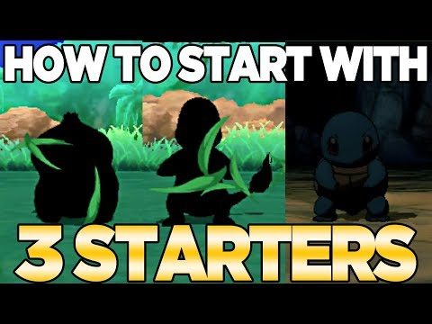 How to Get 3 Starters in Pokemon Ultra Sun & Moon | Austin