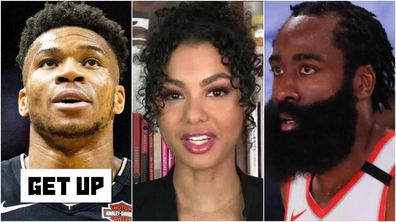 Malika Andrews on the NBA's biggest stories: Giannis signs the supermax & Harden wants out | Get Up