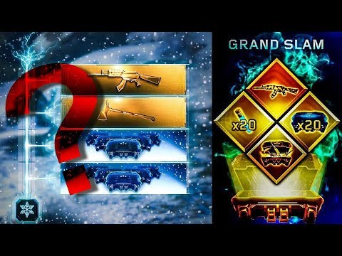 Grand Slam Supply Drop Opening & Holiday Contract Completed UNLOCKING NEW WEAPONS FOR FREE!