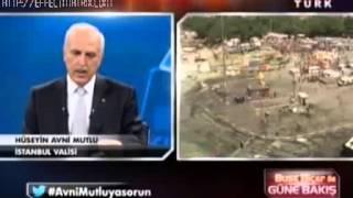 Hüseyin Avni Mutlu Gezi Parkı Açıklamaları (haberturk) 12 Haziran 2013