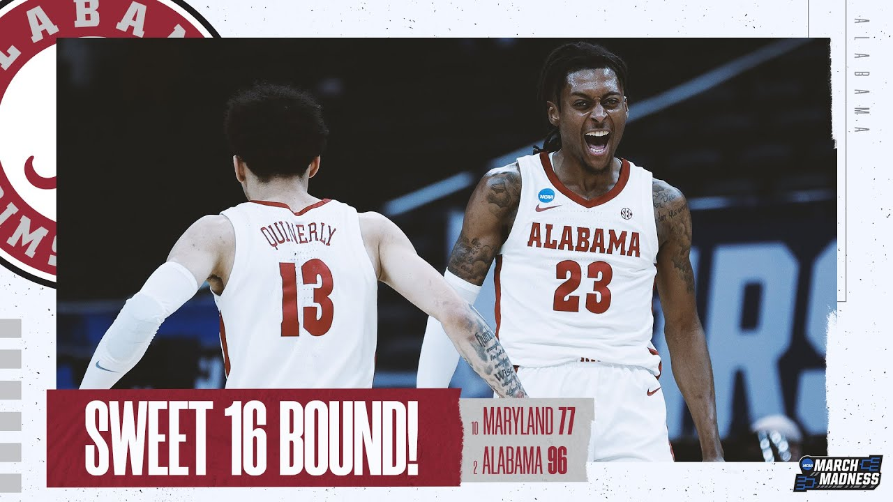 Maryland vs. Alabama - Second Round NCAA tournament extended highlights