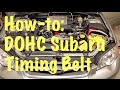 How to Change a Subaru Timing Belt