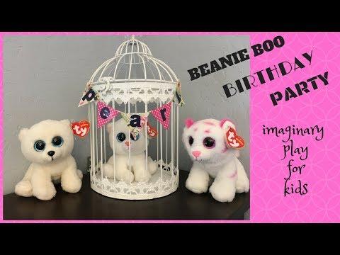 Beanie Boo Birthday Party (Imaginary Play)