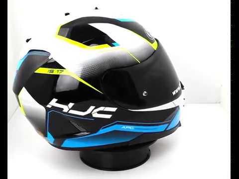HJC IS 17 Loktar Blue MC2 Motorcycle Helmet