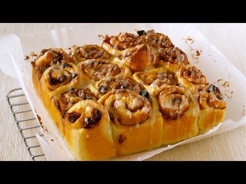 Tear 'n' Share Cinnamon Rolls シナモンロール ちぎりパンの作り方 - OCHIKERON - CREATE EAT HAPPY