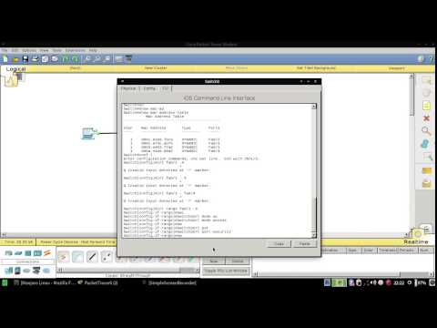 How To Setting Port Security Sticky in Cisco Packet Tracer