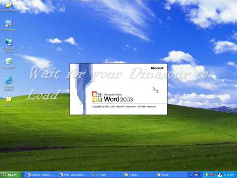 HOW TO OPEN MICROSOFT WORD FOR DUMMIES